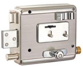 6支鑰匙,2#優美佳610A五段葉片鎖 附暗栓內栓 鐵門鎖 5段鎖 大門鎖,小偷剋星防盜鎖 *單鎖心 防暴力開鎖