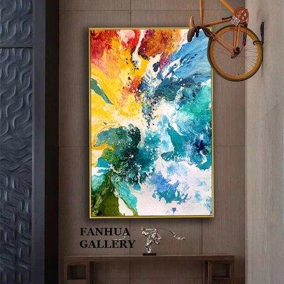 C - R - A - Z - Y - T - O - W - N 當代抽象藝術掛畫 飯店抽象裝飾畫 樣品屋接待室裝飾畫