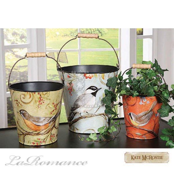 【Creative Home】Bohemian Bazzar 波西米亞系列鳥語花香水桶 / 置物桶 / 花盆 / 花器 (共三款)