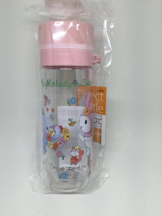 日本三麗鷗 美樂蒂 塑膠水壺380ml
