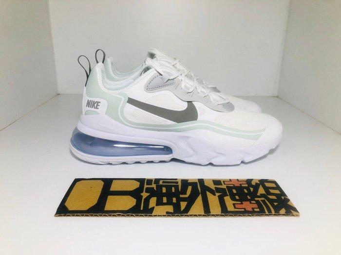 【OB海外連線】Nike Air Max 270 React 預購 淺灰 灰白 白灰 銀勾 慢跑鞋 CV1632-100