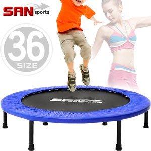跳跳樂36吋彈跳床91cm跳跳床彈簧床跳高床有氧彈跳樂彈跳器平衡感兒童遊戲床運動健身器材B004-36【推薦+】