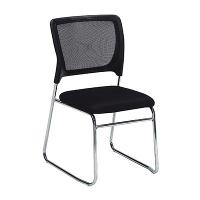 【在地人傢俱】20 幸福購-079黑色網布辦公椅/電腦椅/休閒椅 CS915-11