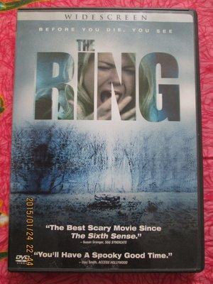 進口DVD~七夜怪談西洋篇(The Ring) 電影.如圖示