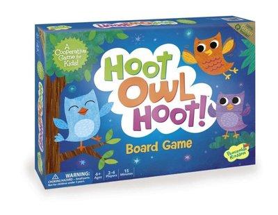 小園丁 桌遊  貓頭鷹回家 Hoot Owl Hoot! 合作遊戲 4y 5y 7y