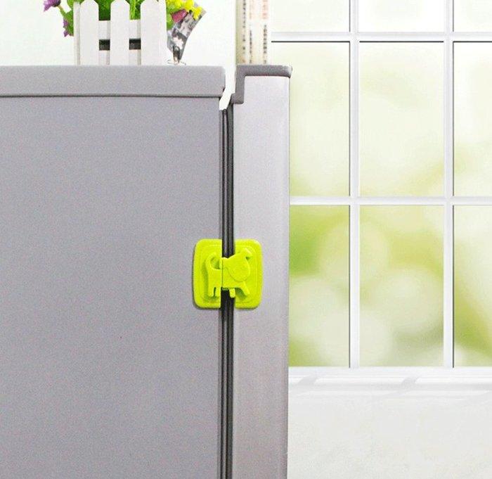 寶寶 冰箱 櫃子 馬桶 安全 抽屜 多功能 防護鎖 安全卡扣 ~ 萬能百貨