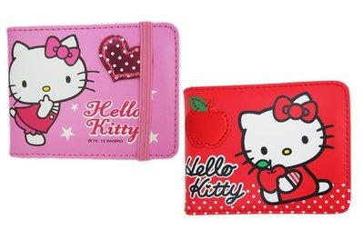 【卡漫迷】 Hello Kitty 名片本 九折出清 ㊣版 凱蒂貓 名片簿 卡片本 信用卡 收納冊 皮革卡片收納包 /款