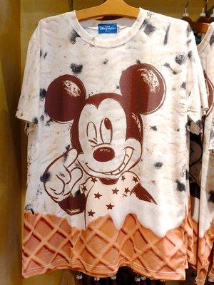 07/19入園(預購商品) 牛牛小舖**日本空運代購 東京迪士尼樂園 夏日消暑冰淇淋系列圓領T恤