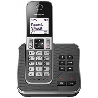 【通訊達人】 國際牌 Panasonic KX-TGD320 TW DECT數位無線電話答錄機_黑色松下公司貨
