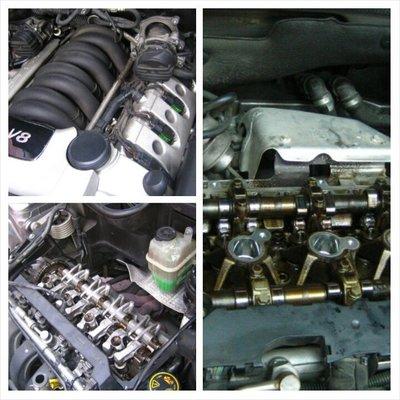 AUDI 汽門蓋墊片 後曲軸油封 油底殼墊片 漏油處理 A1 A3 A4 A5 A6 A7 A8 Q3 Q5 Q7 TT