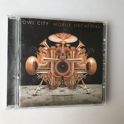 Owl City - Mobile Orchestra   全新未拆