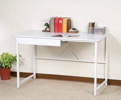 120X60公分單抽工作桌/電腦桌/書桌/會議桌/辦公桌(兩色可選)