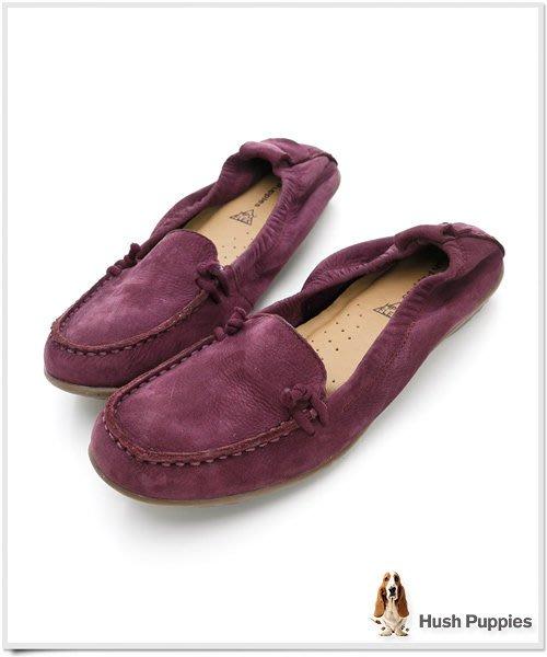 姍姍小舖☆歐美鞋館☆Hush Puppies 簡約漫步舒適輕便鞋-紫