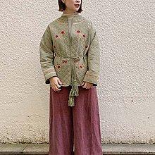 |The Dood Life|fig London CHINA quilting / 絎縫古着潮 刺繡流蘇 中國風外套