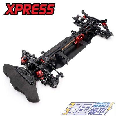Xpress Execute XQ1S 1/10電動房車 競速平路車架RC電房遙控車KIT