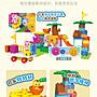 積木城堡 迷你廚房 早教益智澳貝超級飛俠歡樂積木兒童益智早教創意認知拼裝4歲玩具收納塑膠