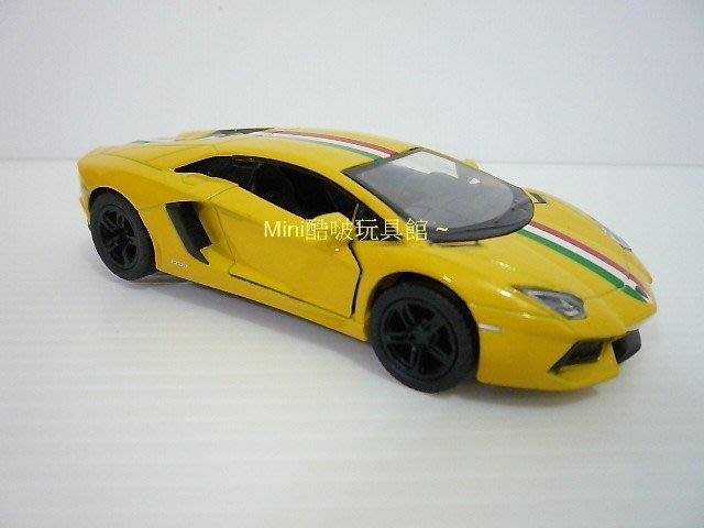 原廠授權雷射標籤~藍寶堅尼 Lamborghini Aventador LP700-4 合金車-蠻牛跑車