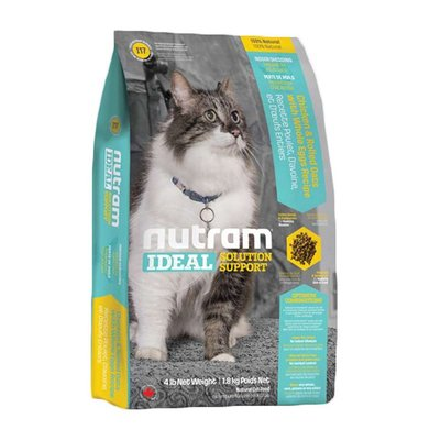 SNOW的家【訂購】紐頓Nutram-I19三效強化貓雞肉鮭魚1KG(81730800