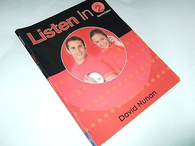 古集二手書G ~Listen in 2 (2/e) David Nunan Heinle & Heinle 9780838404348