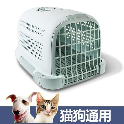 ZIHOPE 寵物航空箱提籃帶防護網創意小狗貓咪外出手提式便攜ZI812