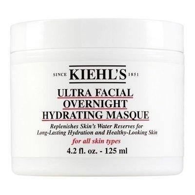 kiehls 契爾氏 冰河保濕玻尿酸晚安面膜 125ml ✪棉花糖美妝香水✪