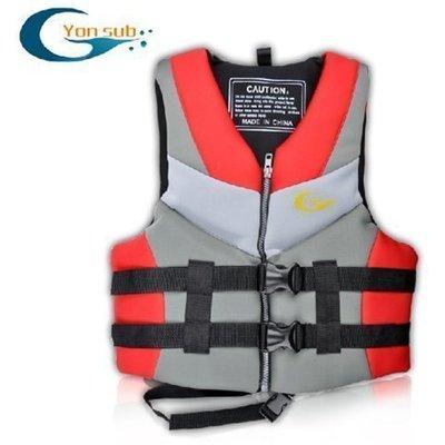 【購物百分百】YonSub 新款成人救生衣 漂流 浮力衣 專業浮潛服 馬甲 背心 浮水衣 海邊泳池遊泳專配 漂流學泳必備