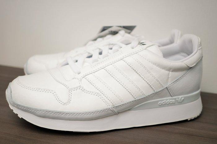 J-Shop香港代購 Adidas 型號B26407 男女可穿 白色 再造紙效果復古 球鞋 US8號 25CM 購於日本