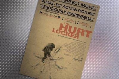 【貼貼屋】 危機倒數 The Hurt Locker  懷舊復古 牛皮紙海報 店面裝飾 經典電影海報 440