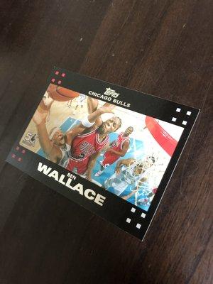 BEN  WALLACE   2007 TOPPS 50紀念卡 103 卡片如圖