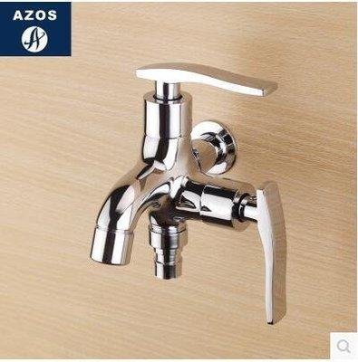 【優上】陽臺洗衣機水龍頭雙用全銅拖把池龍頭雙出水加長洗衣池水龍頭