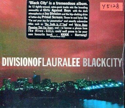 *還有唱片行* DIVISION OF LAURA LEE / BLACK CITY 全新 Y5128