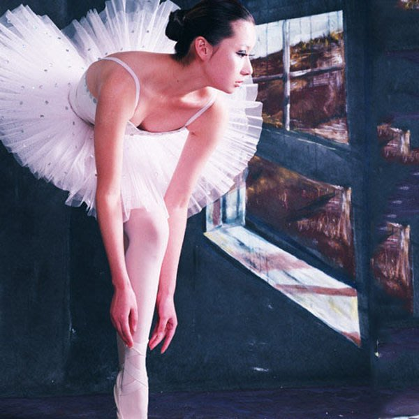 5Cgo【鴿樓】會員有優惠 42253497288 芭蕾舞蹈裙 成人紗裙蓬蓬裙芭蕾比賽服tutu天鵝湖舞演出服 芭蕾舞衣