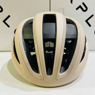 【皇小立】KPLUS NOVA 磁吸式安全帽 杏沙白 自行車安全帽 / KASK MONTON POC OGK GIRO