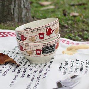 歐洲雜貨【U-style】法國Suzy雜貨歐蕾碗(單入) / 湯碗 歐洲餐具 生日禮物