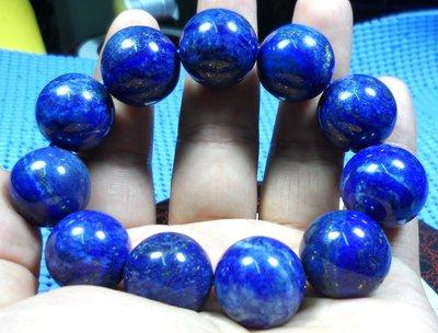 1226青金石Lapis lazuli 手珠鍊.約20mm