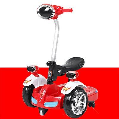 大電瓶早教可坐人兒童電動平衡車兒童小孩玩具電動