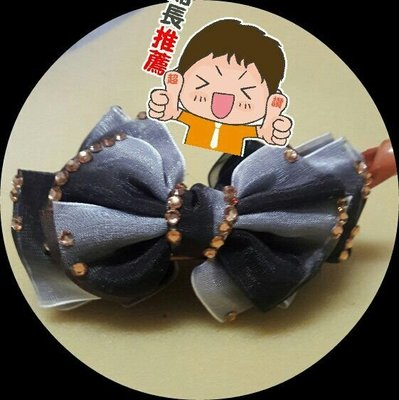 日韓飾品#香蕉夾頭飾#成人馬尾髮夾#小清新蝴蝶結