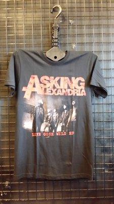【搖滾帝國】 Asking Alexandria 樂團 團T T shirt 搖滾 金屬 骷髏 死神 短袖
