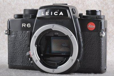 【品光攝影】Leica 徠卡 萊卡 德國 R6 單機身 BODY 黑機 底片機 R口 FE#54828