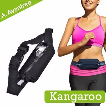 Avantree Kangaroo 運動型 防潑水 彈性 腰包 腰帶