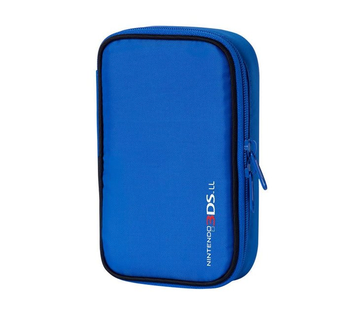[哈GAME族]日本 MORI GAMES 3DS LL/XL 專用 SMART POUCH 藍色 收納包 保護包