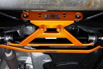 《大台北》億成汽車底盤精品改裝-SUMMIT-後下結構井字組 VOLVO V40
