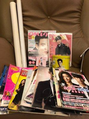 韓國偶像金秀賢雜誌、海報、剪報等全部  1000元--限郵寄