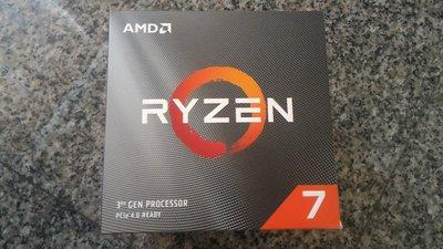 含稅價 全新 展碁貨 AMD Ryzen 7 R7 3700X