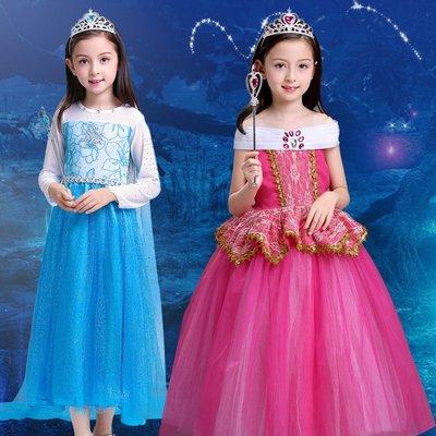 萬圣節兒童服裝 女童寶寶cosplay角色扮演公主裙裝扮表演女孩衣服 Cosplay服裝