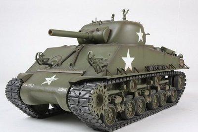 台中.彰化((金和勝玩具))免運費 1:16 美國 M4A3 雪曼坦克 2.4G金屬升級版 遙控戰車 3898 4124