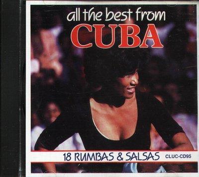 八八 - THE BEST FROM CUBA 18 RUMBAS AND SALSAS