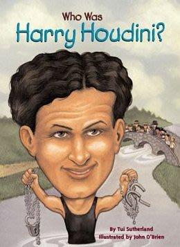 *小貝比的家*WHO WAS HARRY HOUDINI?/平裝/7~12歲/偉人傳記