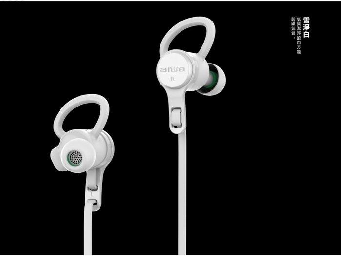 【MONEY.MONEY】aiwa愛華運動型無線藍芽耳機 EB-602BE / EB-602RD