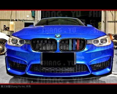 BMW F30 F31 M3 式樣 前保桿 空力套件